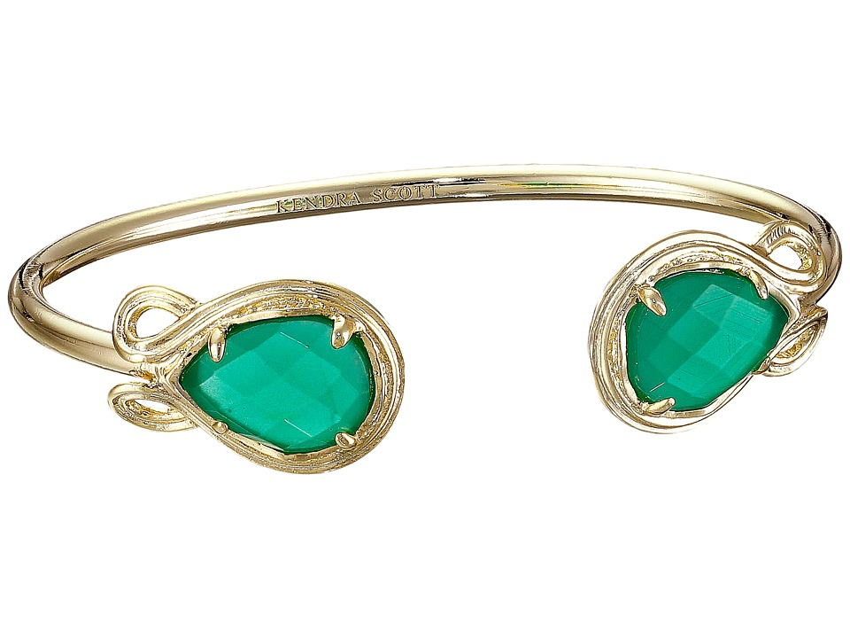 Kendra Scott Andy Bracelet Gold/Green Bracelet