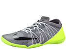 Nike Free 1.0 Cross Bionic 2 (Cool Grey/Volt/Pure Platinum Black)