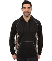 Roper - Solid Black Bonded Fleece Pieced w/ Camo