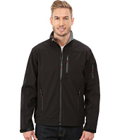 Roper - Solid Black Softshell Jacket