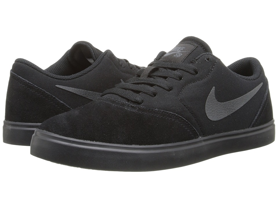Nike SB Kids SB Check Big Kid Black/Anthracite Boys Shoes