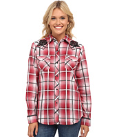 Roper - 9748 Red Ombre Large Plaid