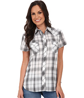 Roper - 9747 Black, Grey, & White Plaid
