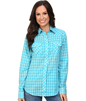 Roper - 9745 Small Turquoise Plaid