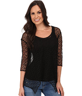 Roper - 9773 Poly Crochet Mesh Top
