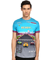 LOVE Moschino - Race Car Print T-Shirt