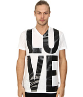 LOVE Moschino - Love Print V-Neck T-Shirt