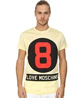 LOVE Moschino - Yellow Eight Ball T-Shirt