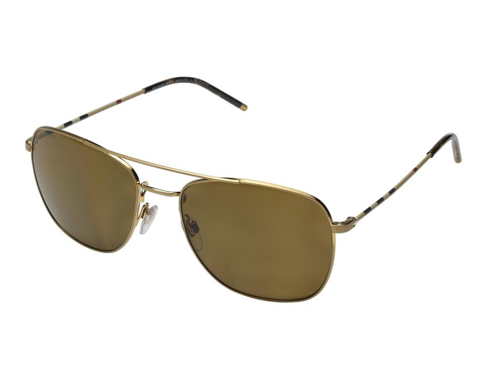 Burberry 0BE3079 Gold/Polar Brown Fashion Sunglasses