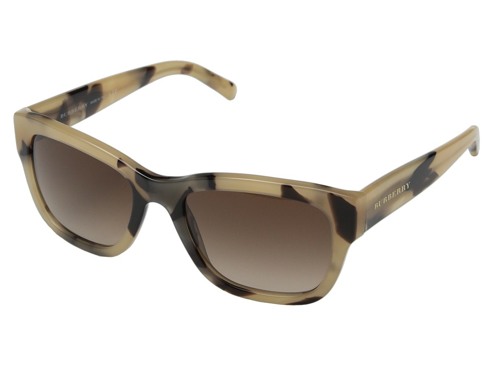 Burberry 0BE4188 Horn/Brown Gradient Fashion Sunglasses