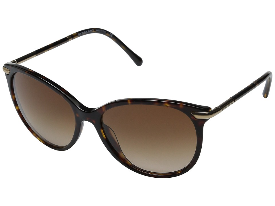 Burberry 0BE4186 Dark Tortoise/Brown Gradient Fashion Sunglasses