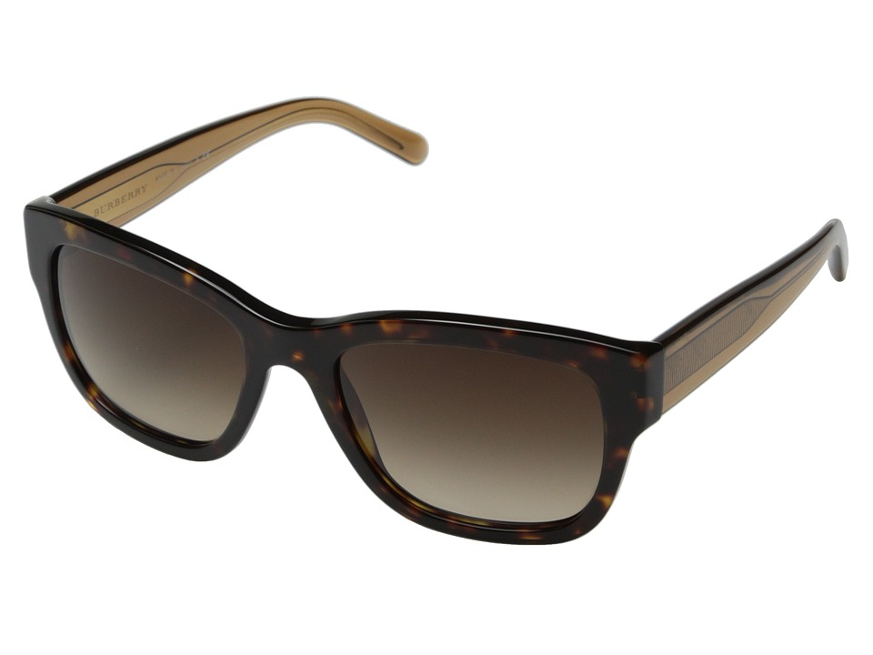Burberry 0BE4188 Dark Tortoise/Brown Gradient Fashion Sunglasses