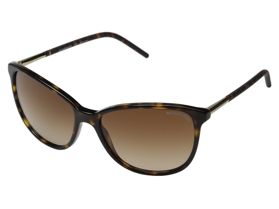 Burberry 0BE4180 Dark Tortoise/Brown Gradient Fashion Sunglasses