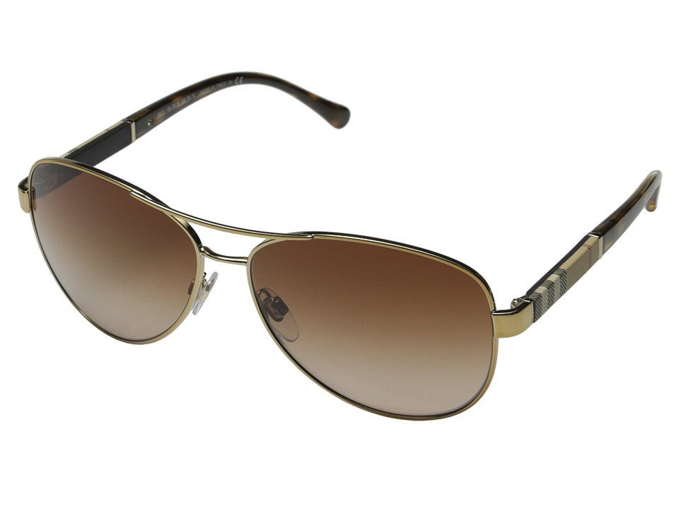 Burberry 0BE3080 Gold/Brown Gradient Fashion Sunglasses