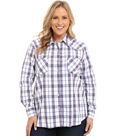 Roper - Plus Size 9537 Blue Berry Plaid