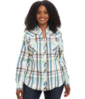 Roper - Plus Size 9542 Natures Plaid