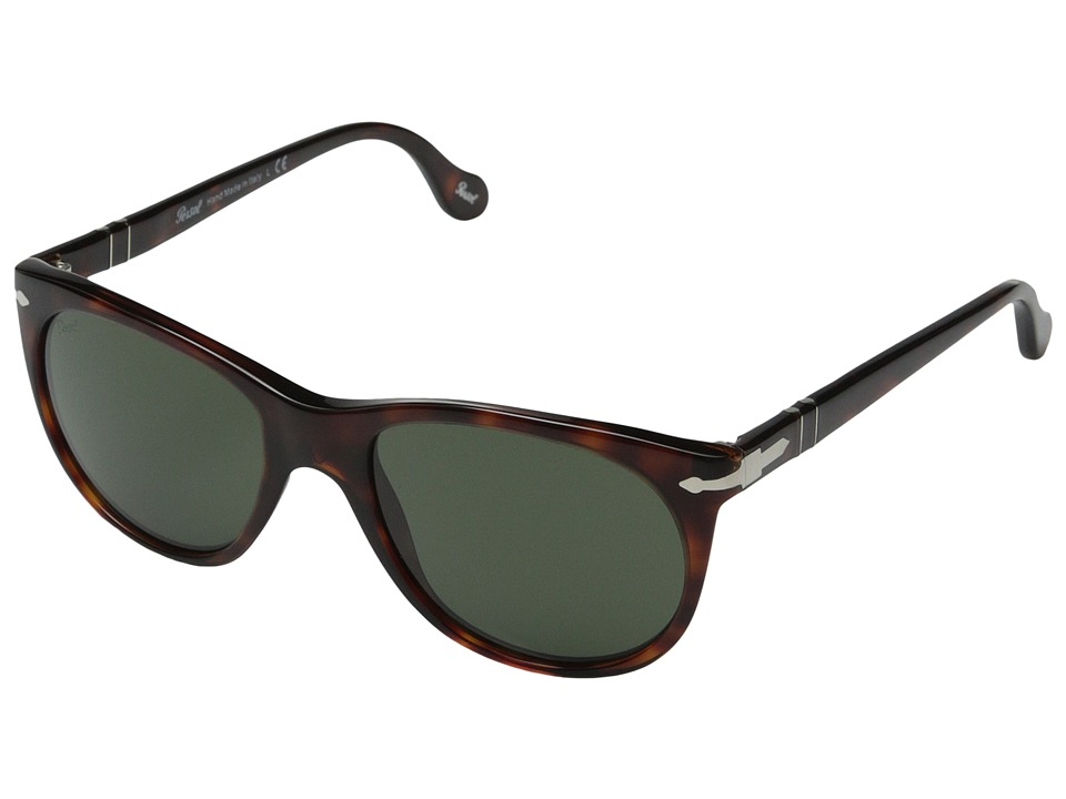 Persol 0PO3097S Havana/Green Fashion Sunglasses