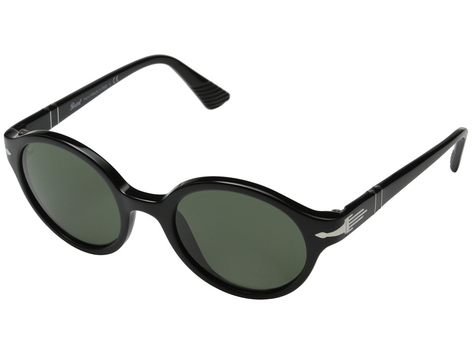 Persol - 0PO3098S (Black/Green) Fashion Sunglasses