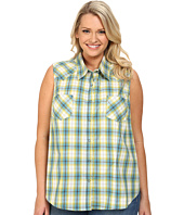 Roper - Plus Size 9541 Lemon Grass Plaid
