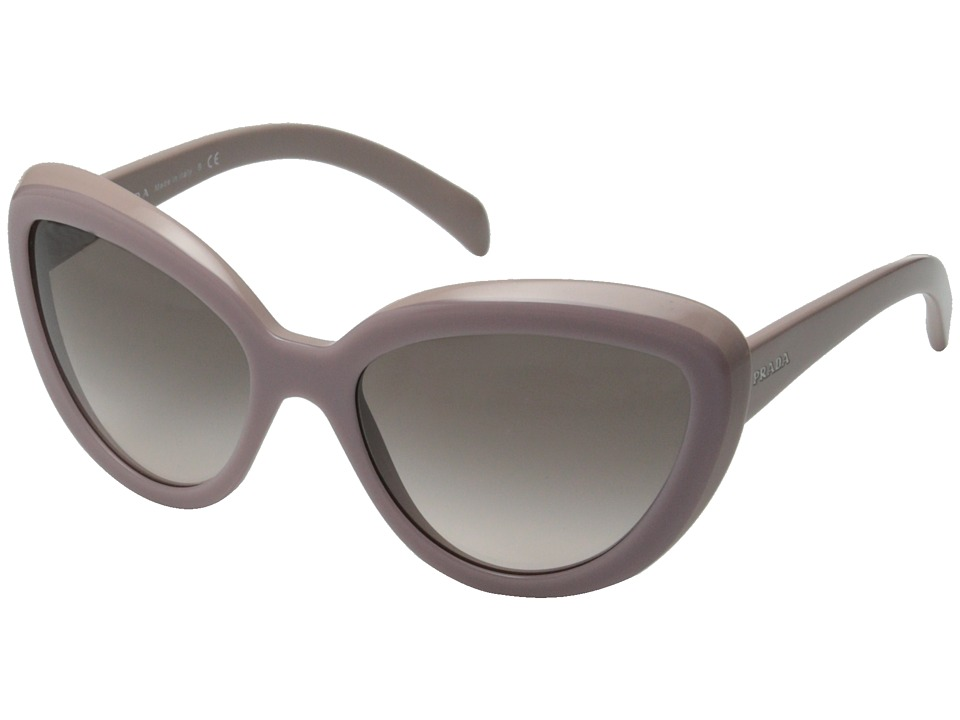 Prada 0PR 08RS Opal Pink/Pink Gradient Grey Fashion Sunglasses