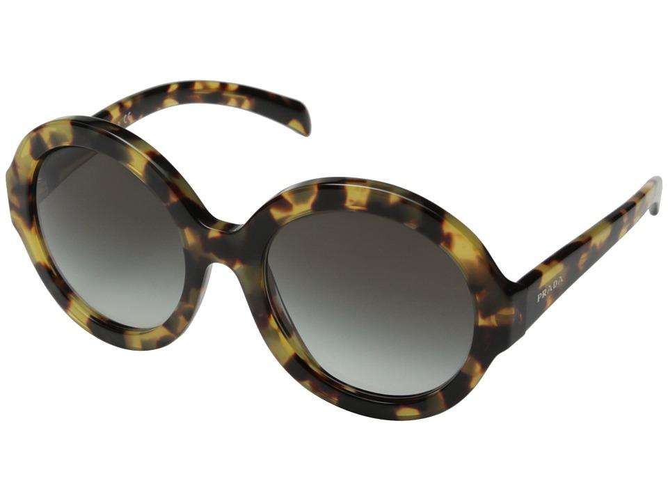 Prada 0PR 06RS Medium Havana/Grey Gradient Fashion Sunglasses