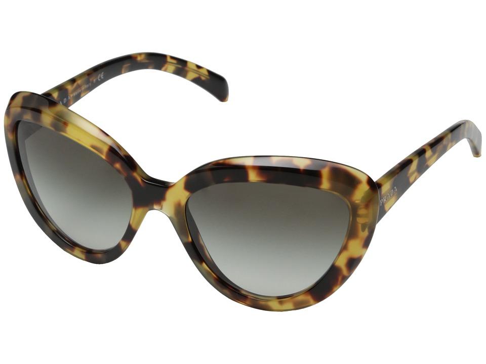 Prada 0PR 08RS Medium Havana/Grey Gradient Fashion Sunglasses
