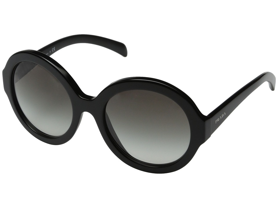 Prada 0PR 06RS Black/Grey Gradient Fashion Sunglasses