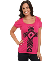 Roper - 9598 Poly Spandex Cold Shoulder Tee