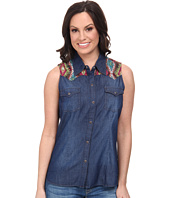 Roper - 9633 5 Oz Indigo Denim Sleeveless Shirt