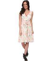 Roper - 9588 Vintage Floral Chiffon Print Dress