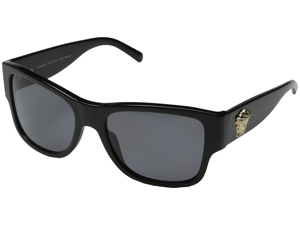 Versace VE4275 Black/Polarized Grey Fashion Sunglasses