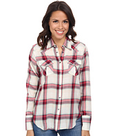 Stetson - 9578 Coral Plaid Wstn Shirt