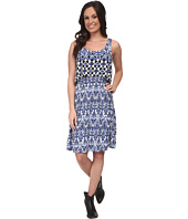 Stetson - 9705 Border Tile Print Tank Dress