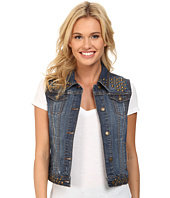 Stetson - Denim Vest Jacket w/ Studding