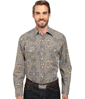 Stetson - 9565 Highland Paisley Print On Poplin