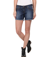 Stetson - Denim Short w/ Printed Side Panels