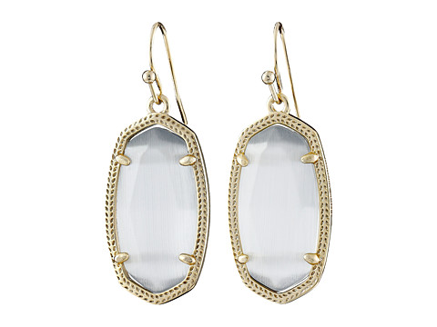 Kendra Scott Dani Earrings - Gold/Slate