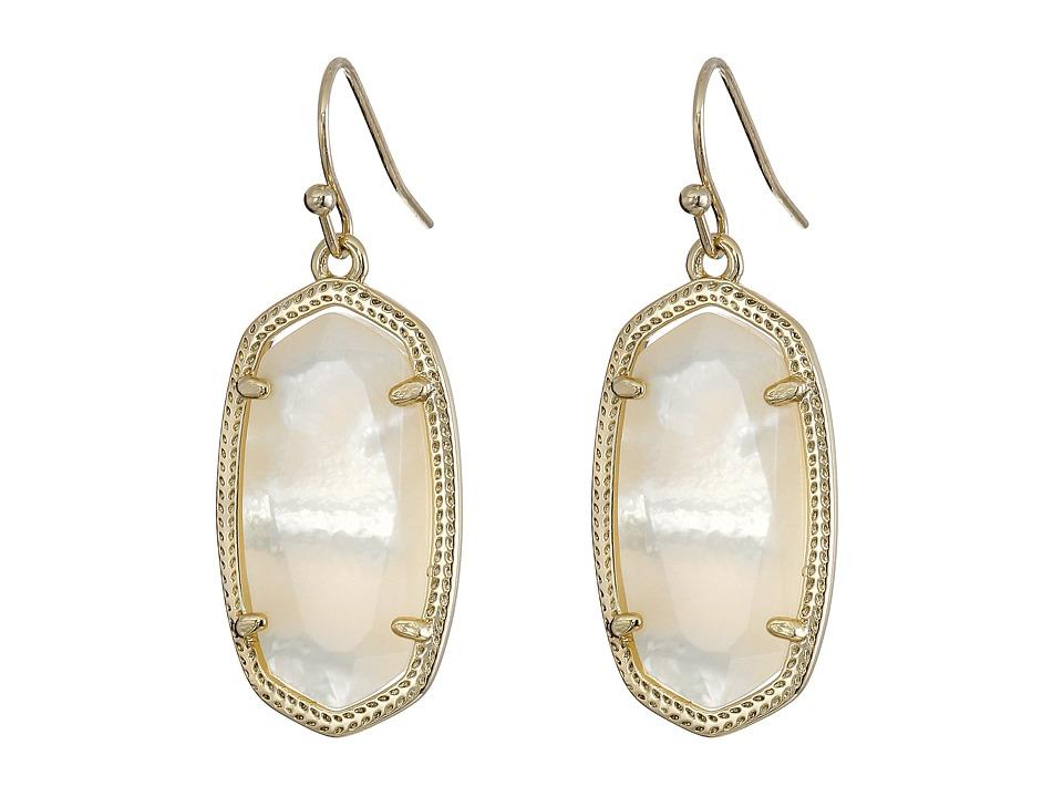 Kendra Scott Dani Earring Gold/Ivory Earring