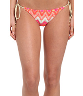 Luli Fama - Flamingo Beach Tieside Ruched Full Bottom