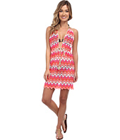 Luli Fama - Flamingo Beach Front Row Mini Cover-Up