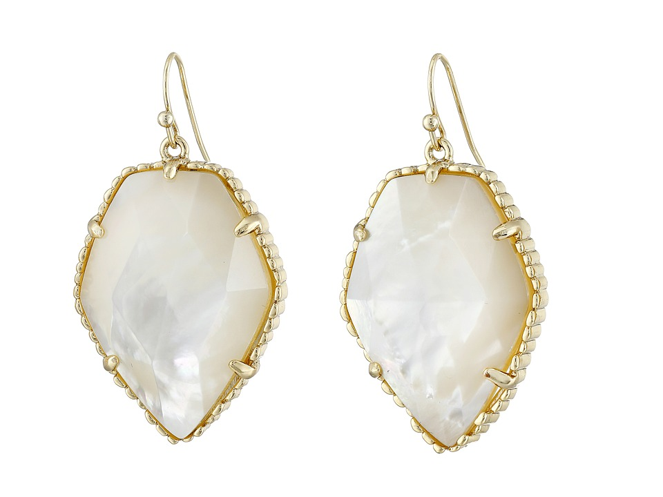 Kendra Scott Corley Earring Gold/Ivory MOP Earring