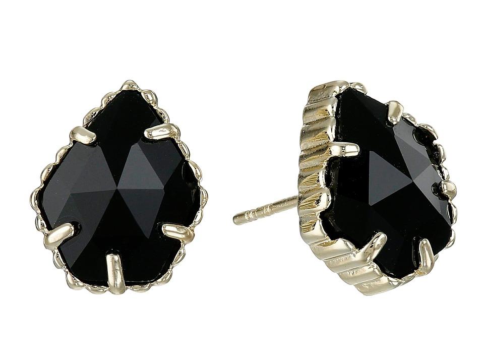 Kendra Scott Tessa Earring Gold/Black Earring