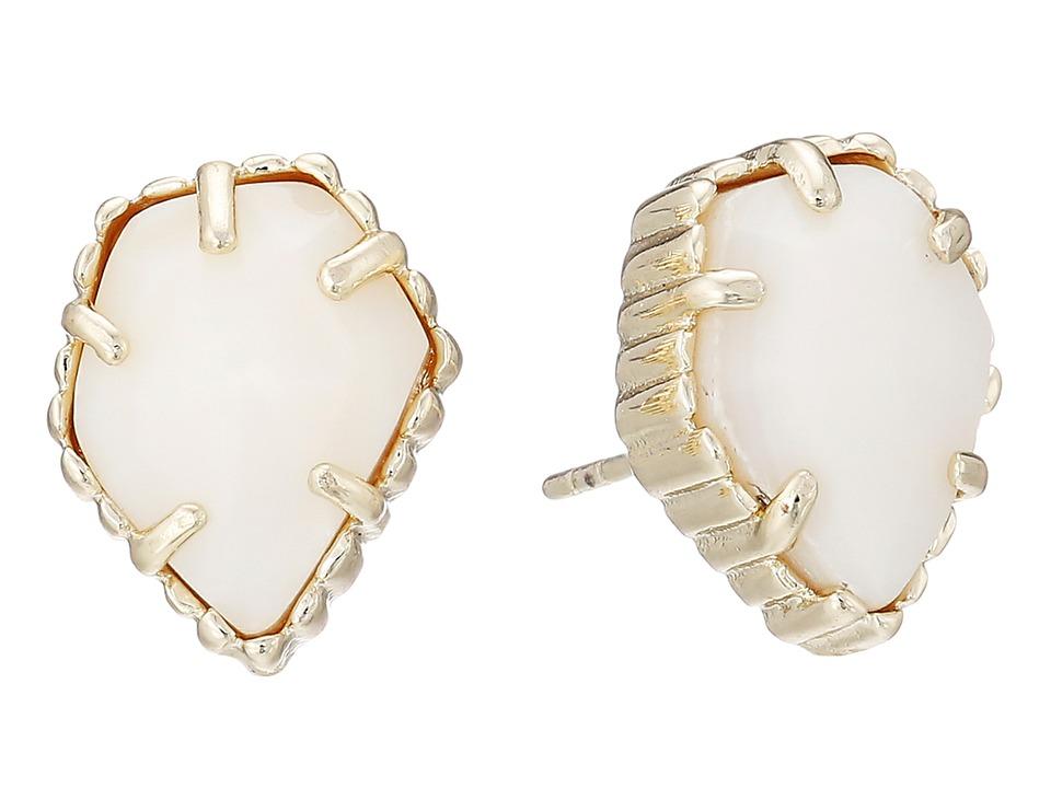 Kendra Scott Tessa Earring Gold/White MOP Earring