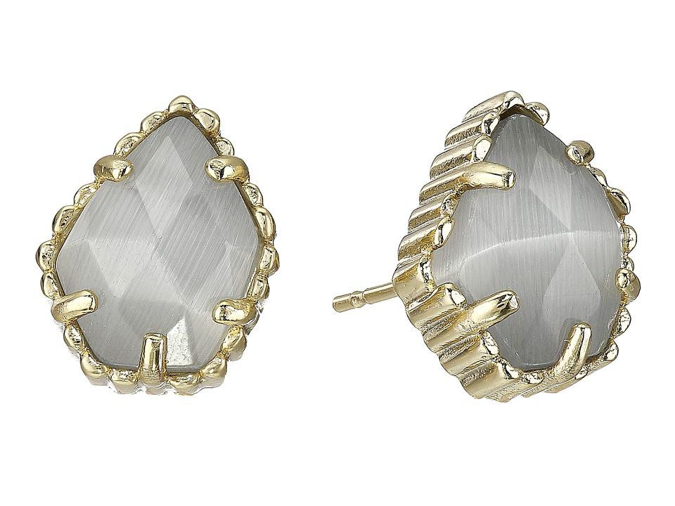 Kendra Scott Tessa Earring Gold/Slate Earring