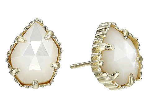 Kendra Scott Tessa Earring - Gold/Ivory Mother of Pearl