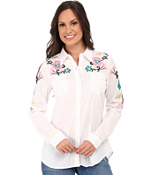 Roper - 9787 White Cotton Lawn Shirt