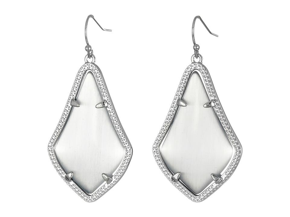 Kendra Scott Alex Earring Rhodium/Slate Earring