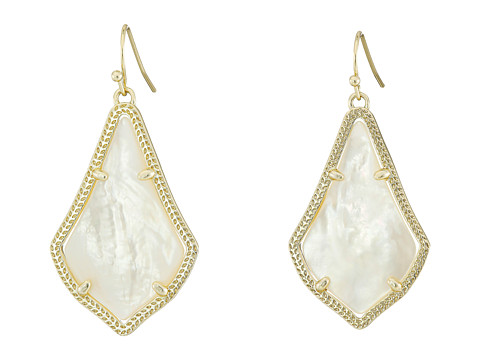 Kendra Scott Alex Earring - Gold/Ivory Mother of Pearl