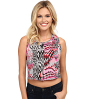 Roper - 9759 Crazy Patch Print Cropped Shirt