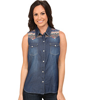Roper - 9751 5 Oz Denim Sleeveless Shirt
